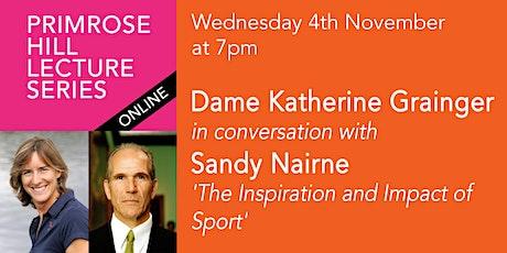 PHLS 2020: Dame Katherine Grainger in conversation with Sandy Nairne tickets