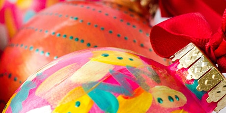 Glass Bauble Painting Workshop tickets