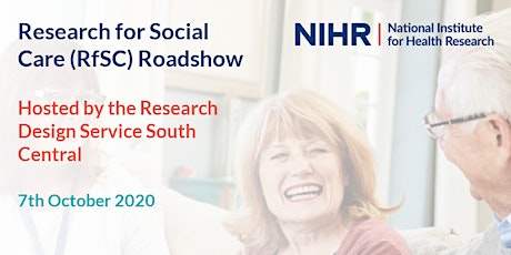 Research for Social Care (RfSC) Roadshow - South Central tickets