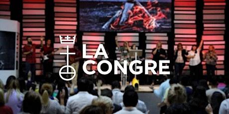 Culto La Congre VA - 1er horario 16:00 a 17:00 hs entradas