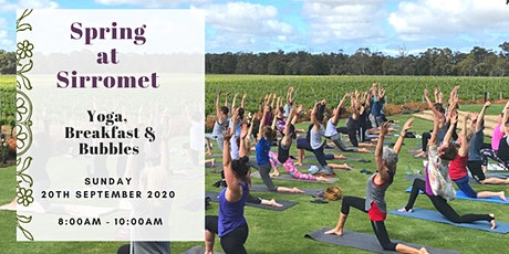 Spring Yoga Event at Sirromet Wines tickets