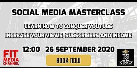 Content is King - Social Media Masterclass tickets
