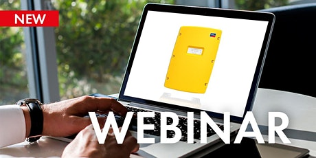 Webinar: Designing of Off-Grid Systems with SMA Sunny Island Inverters tickets