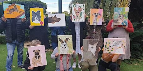 Creativitea - Paint your Dog tickets