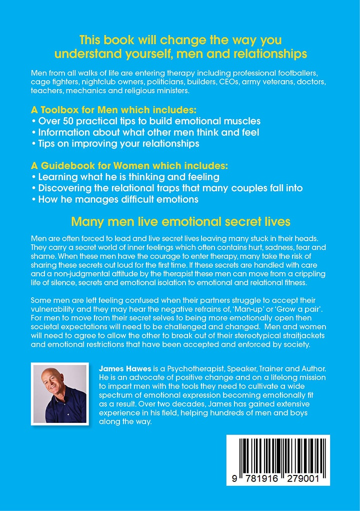 7 Keys for Working Successfully w/ Men in Therapy Part 1 - James Hawes image