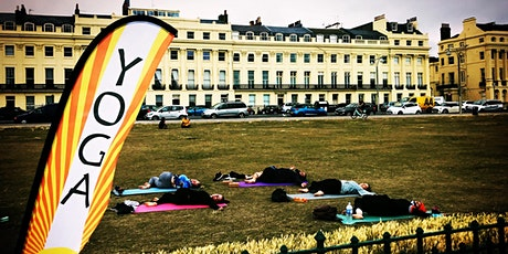 Outdoor Yoga at Hove Lawns -  Deep Stretch Slow  Flow tickets