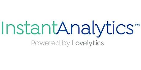 InstantAnalytics Weekly Product Demo tickets