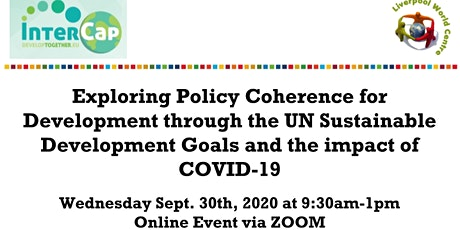 Policy Coherence for Development and the UN Sustainable Development Goals tickets