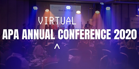 APA Annual Conference 2020 tickets