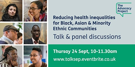 Reducing health inequalities for Black, Asian & Minority Ethnic communities tickets