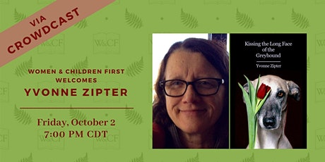 Virtual Launch: KISSING THE LONG FACE OF THE GREYHOUND by Yvonne Zipter tickets