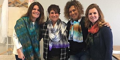 2e gratis | Workshop Zijden sjaal verven in je favoriete kleuren tickets