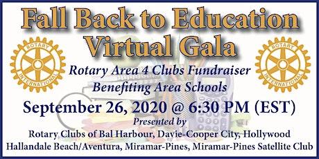 Fall Back to Education Virtual Gala tickets