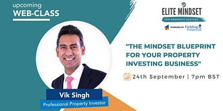 The Mindset Blueprint for Property Success tickets