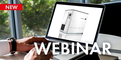 Webinar: Insight into Sunny Central 2200 to 4600 UP hybrid inverters tickets