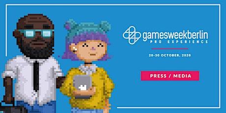 Press/media - gamesweekberlin PRO X tickets