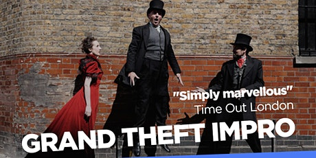 Hoopla:  Grand Theft Impro at 8:45pm! tickets