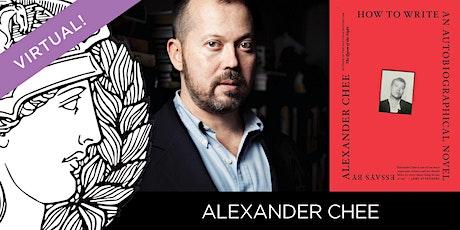 EX LIBRIS: Alexander Chee tickets