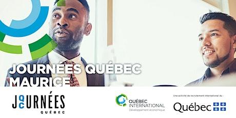 Journées Québec Maurice billets