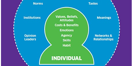 Individual Social Material: Plan effective behaviour change interventions tickets
