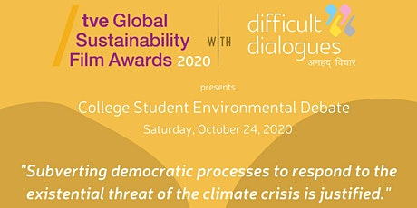 Daring Debates U.S.: Debate and Panel on Climate Change and Democracy tickets