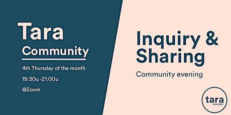 Tara Community Inquiry & Sharing (online) tickets