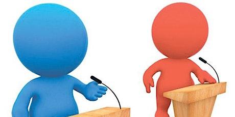 Division C & D Invitational Live Virtual Debate - Monday, 28 Sep, 7-9 PM! tickets