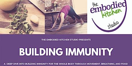 Building Immunity tickets