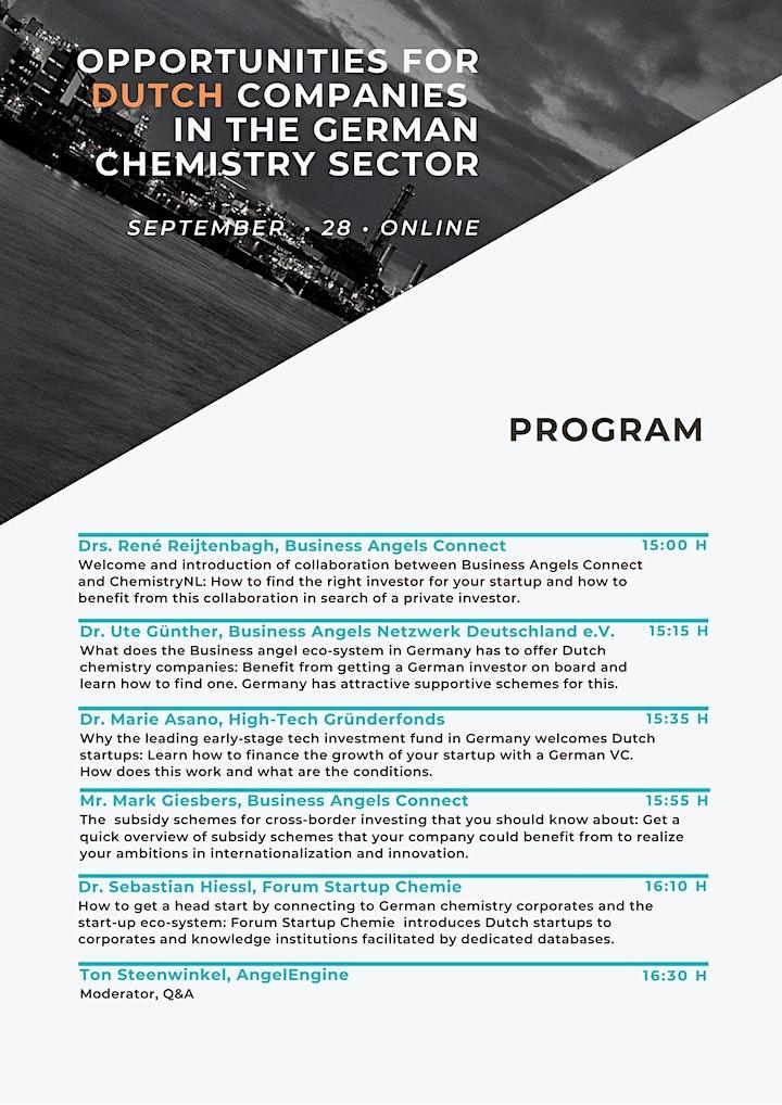 Afbeelding van Opportunities for Dutch companies in the German chemistry sector