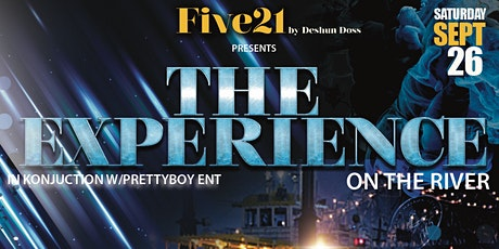 The Experience Pt.1 - ALL BLACK On The River tickets