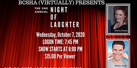 BCSHA Night of Laughter tickets