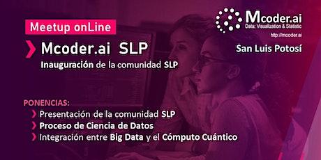 Opening  Mcoder.ai  SLP  /  Meetup Data Science tickets