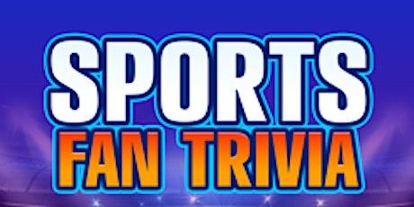 """Virtual Team Trivia: """"Sports Fan Trivia"""" tickets"""