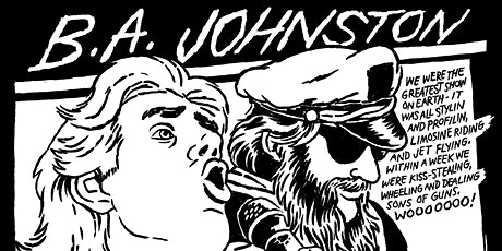 Paradise Garage presents B.A. Johnston with The Muddy Hack tickets