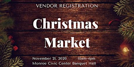 Christmas Market Vendor Registration tickets