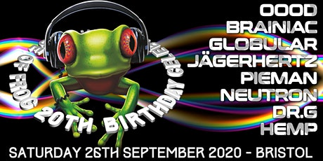 TRiBE of FRoG ☆ 20th Birthday Sessions ☆ Saturday 26th September tickets
