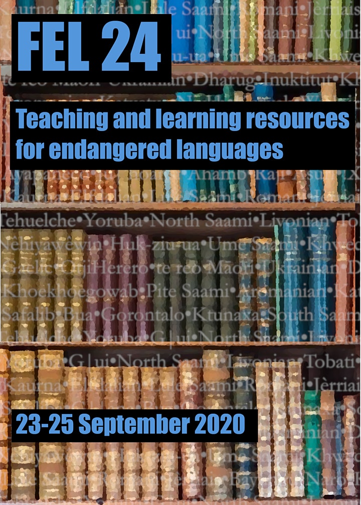 FEL 24: Teaching and Learning Resources for Endangered Languages image