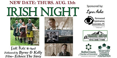 Rescheduled: Drive-In Music and Movie - Celtic Night tickets