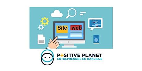 POSITIVE PLANET - Site web et référencement SEO (visioconférence) billets