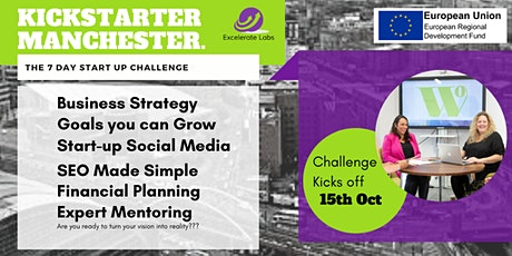 Kickstarter Manchester: The 7 Day Start Up Challenge tickets