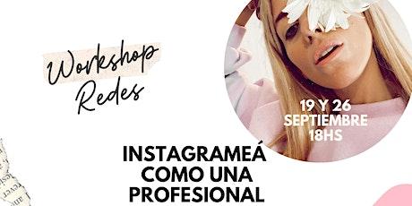 WORKSHOP  - Instagrameá como una profesional por Nati Saal boletos