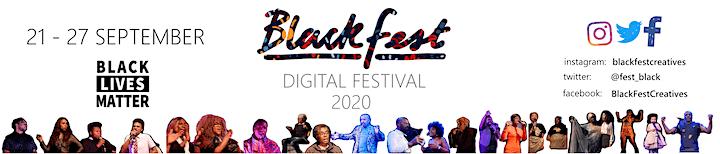 BlackFest Digital 2020: Spoken-Word And Poetry Night. image