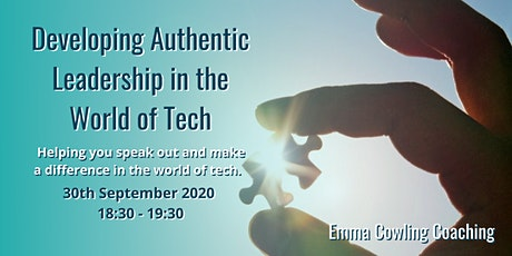 Developing Authentic Leadership in the World of Tech tickets