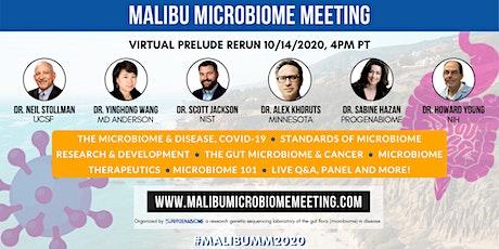 Malibu Microbiome Meeting Virtual Prelude Rerun tickets