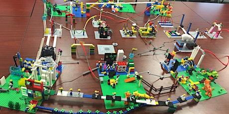 Metodologia LEGO® SERIOUS PLAY® ONLINE - Turma 4 bilhetes