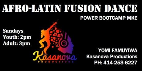 Afro-Latin Fusion Dance - Youth tickets