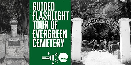 Guided Flashlight Tour of Evergreen Cemetery tickets