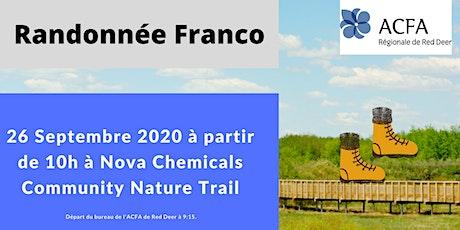 Randonnée Franco tickets