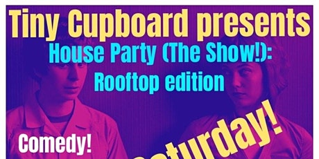 House Party Rooftop Stand Up Comedy Brooklyn with Phil Rizdon: BUNDLE UP! tickets