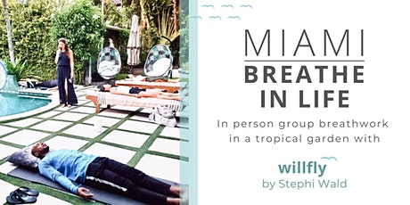 In person group breathwork session - outdoors in Miami tickets